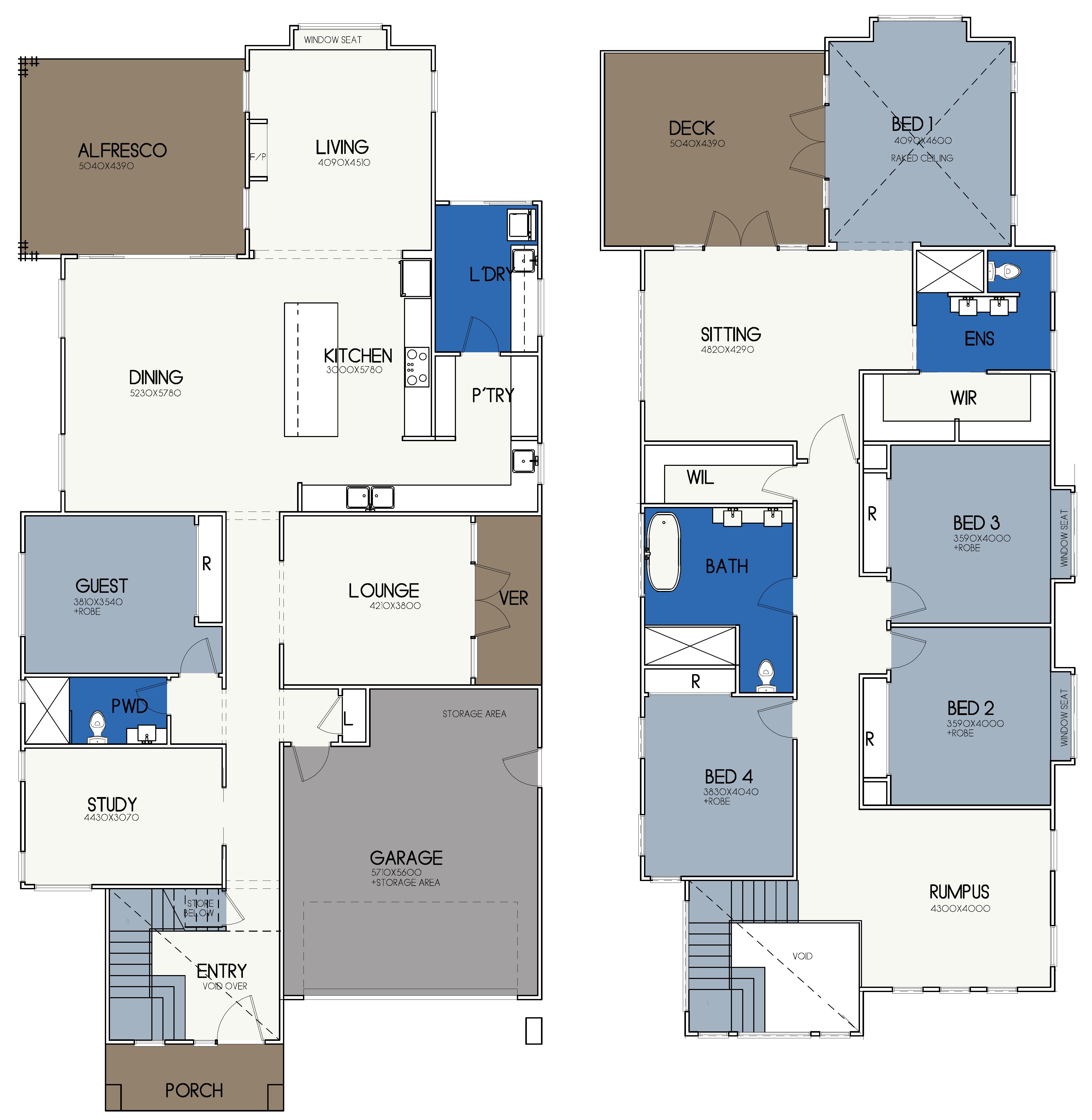 LOT 8 FAIRWAY DRIVE, WILTON – BINGARA GORGE floor plan