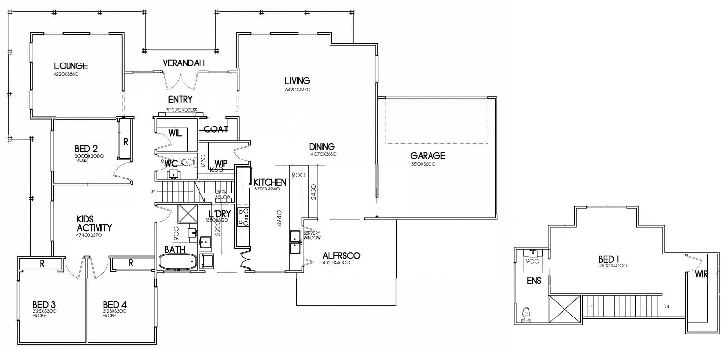 LOT 61 CNR CLUBHOUSE ROAD & FAIRWAY DRIVE, WILTON – BINGARA GORGE floor plan